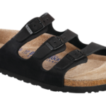 Florida Soft Footbed Black Oiled Leather