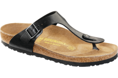 Gizeh Classic Footbed Licorice Birko-Flor