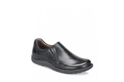Nigel Slip-On Black Leather