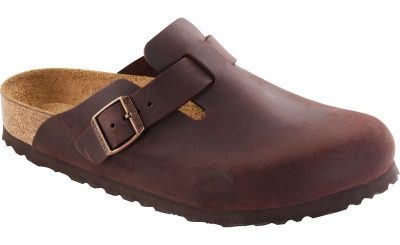 Boston Habana Oiled Leather Soft Footbed Clog