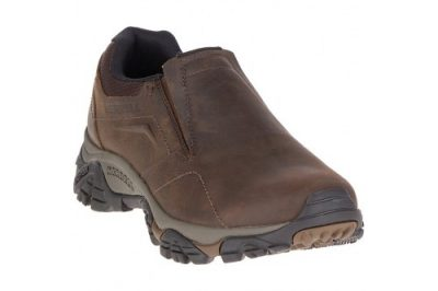 Moab Moc Dark Earth Leather