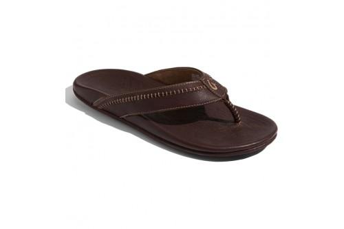 Hiapo Leather Teak