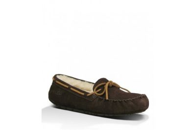 Olsen Espresso Suede Leather