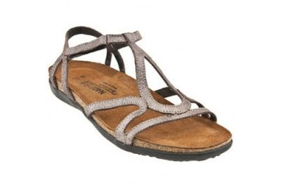 Dorith Sandal Silver Leather