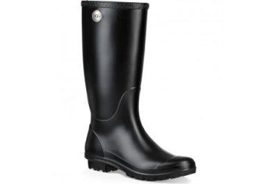 Shelby Black Matte Rain Boot