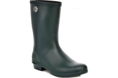 Sienna Black Matte Rain Boot