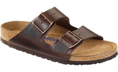 Arizona Soft Footbed Brown Amalfi Leather
