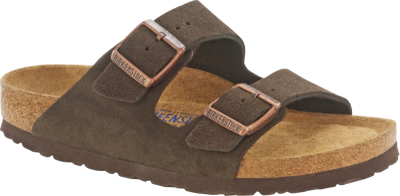 Arizona Soft Footbed Mocha Suede