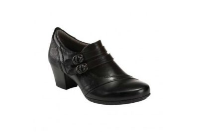 Calgary Toronto Shoe Black Leather
