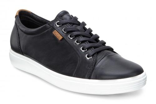 Soft 7 Sneaker Black Leather