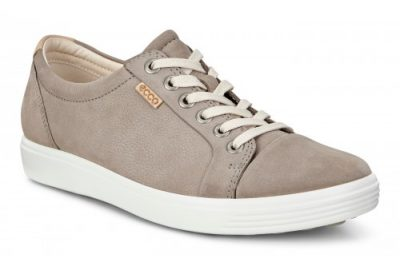 Soft 7 Sneaker Warm Grey Leather