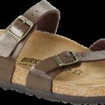 Mayari Classic Footbed Golden Brown Birko-Flor
