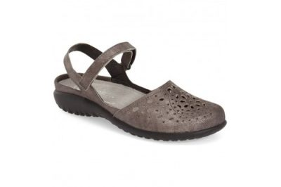 Arataki Shoe Grey Shimmer Leather