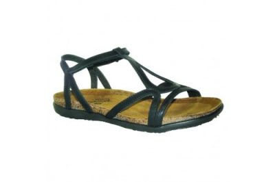 Dorith Sandal Black Raven Leather