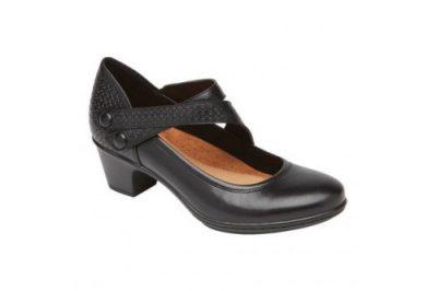 Kailyn Asym Mary Jane Shoe Black