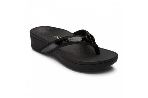 High Tide Platform Sandal Black