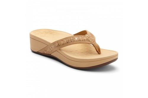 High Tide Platform Sandal Gold Cork
