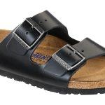 Arizona Soft Footbed Black Amalfi Leather