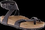 Yara Classic Footbed Black Birko-Flor
