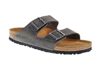 Arizona Soft Footbed Iron Oiled Leather