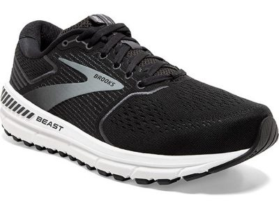 Men's Brooks Beast 20 Black-Grey