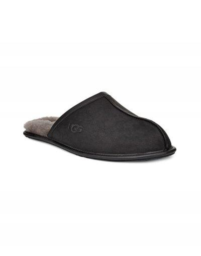 Scuff Black Full Grain Leather
